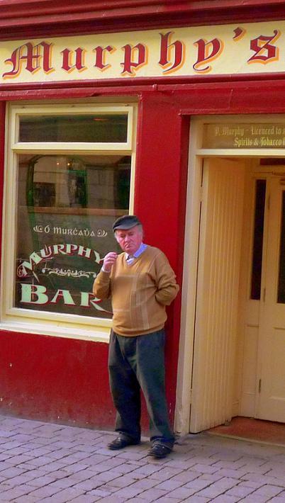 Murphys pub in Galway