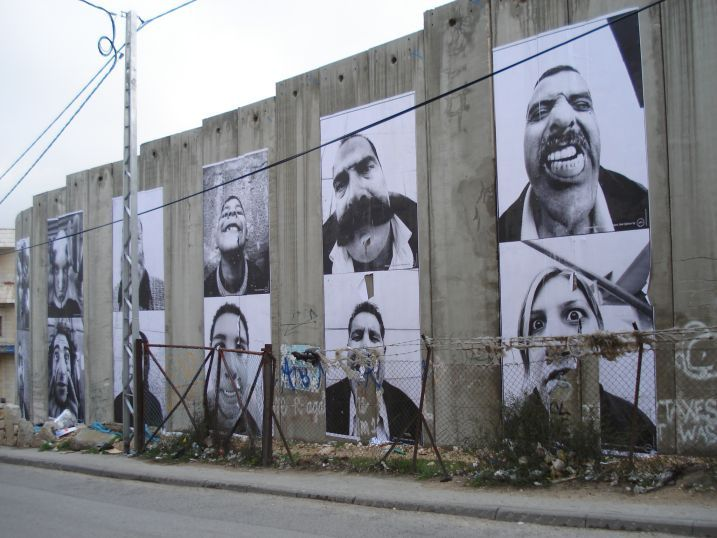 Isreal Palestine seperation wall