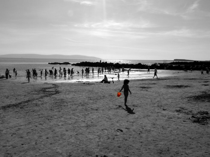 Ladies Beach, Salthill, Galway