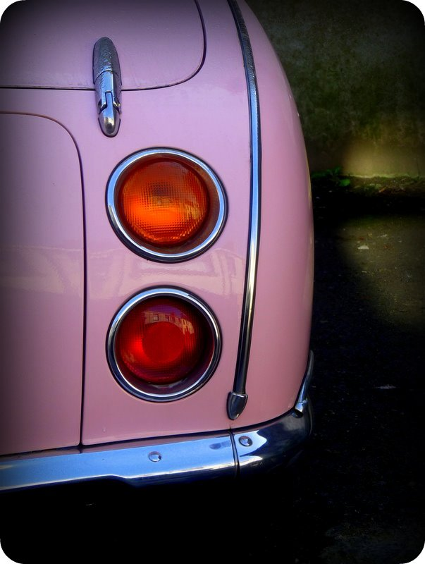 from the old days Pink! (Nissan Figaro)