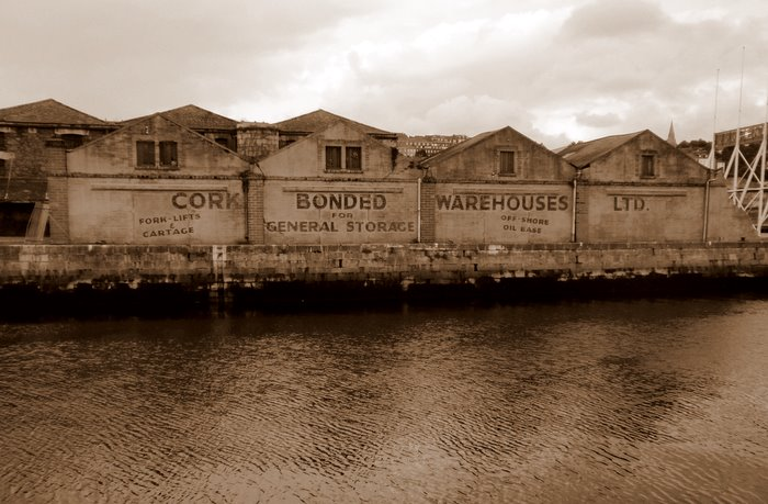 The land that time forgot (Cork Bonded Warehouse)
