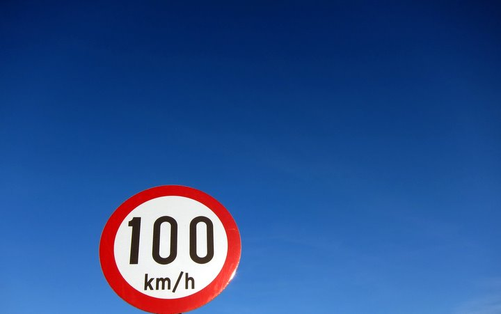 blue sky speed limit