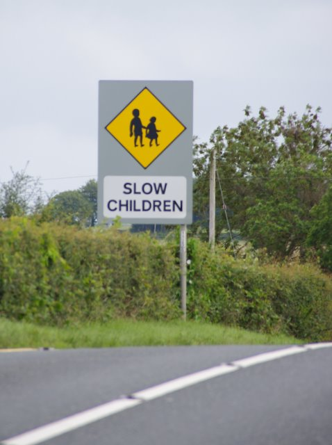 Bad grammar sign
