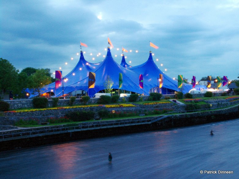 Galway Arts Festival Big Top night Blue Room (Galway Arts Festival Big Top)