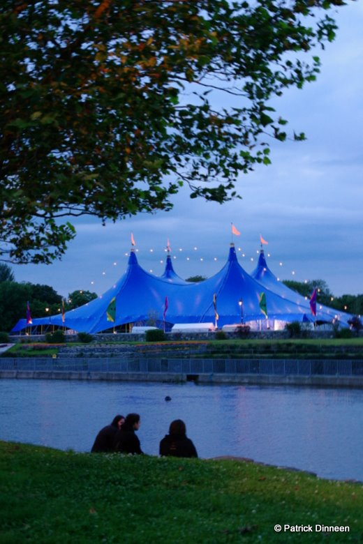 Galway Arts Festival Big Top Blue Room (Galway Arts Festival Big Top)