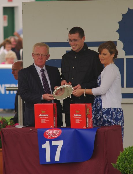 Chris Weld son of Dermot Weld Winner of the Chanelle Leading Trainer Award And You Were Just A Face In The Crowd