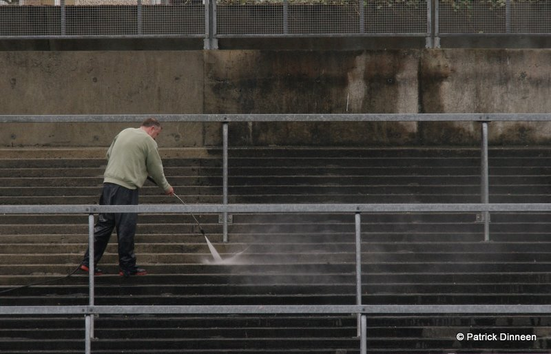 Galway GAA terrace clean Play It Low Into Joe ( Pearse Stadium Galway GAA )
