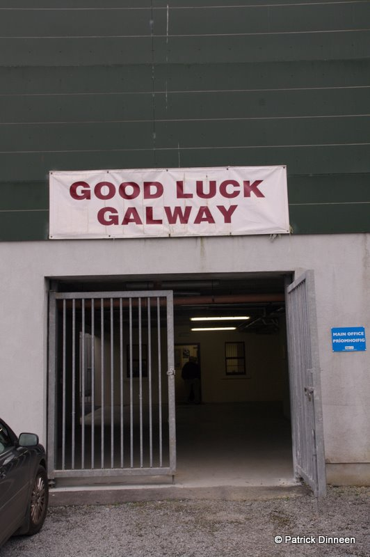 Good luck Galway Lets Get Ready To Rumble