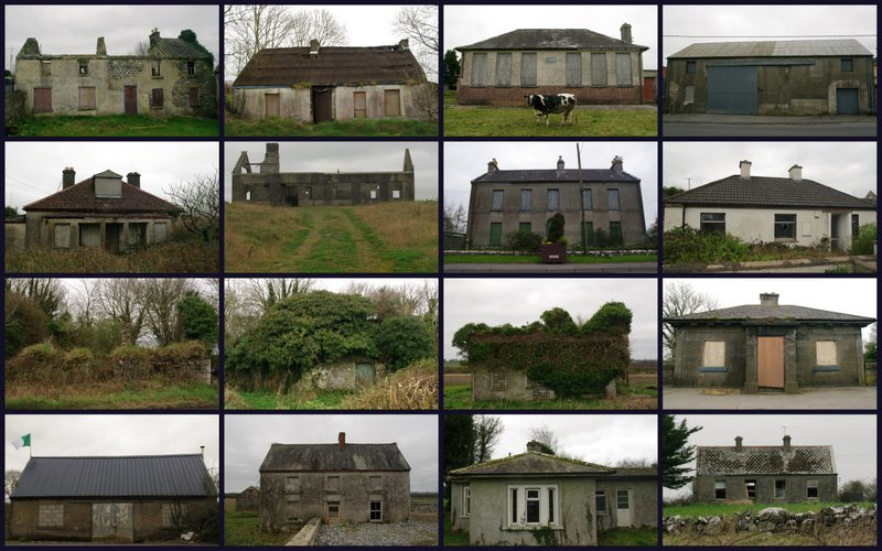 abandoned houses in Ireland