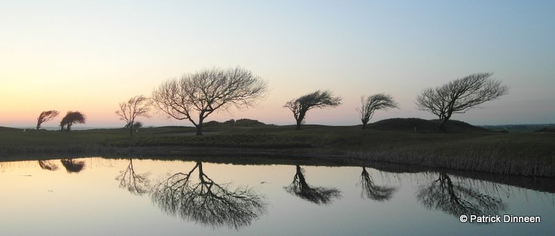 Galway landscape reflection Reflection (Galway Bay Golf course)