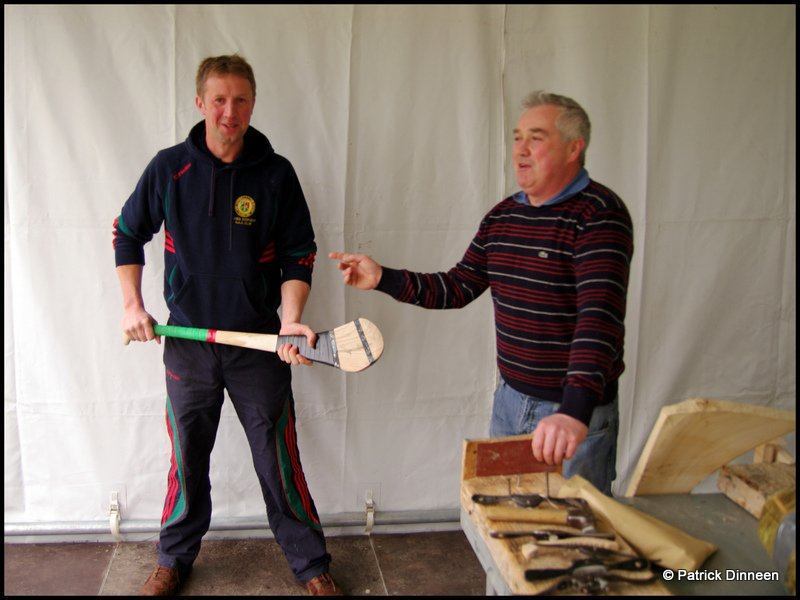 odonoghue hurling Wicked Game (The Art of making a hurley stick )