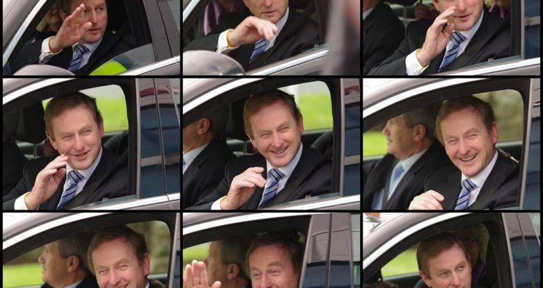 Tell Me Now What's A V.I.P. ( Enda Kenny )