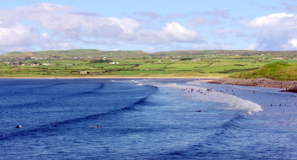 lahnich surfing 1024x554 If everybody had an ocean (Lahinch surfing)