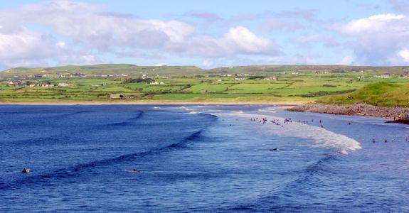 If everybody had an ocean (Lahinch surfing)