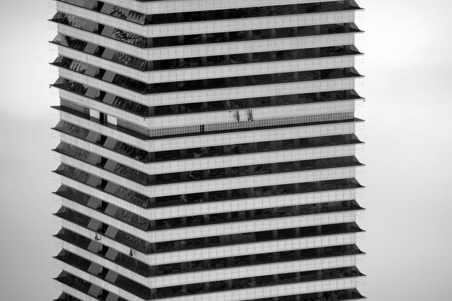 Skyscraper Window Cleaning