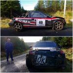 Galway International Rally crash