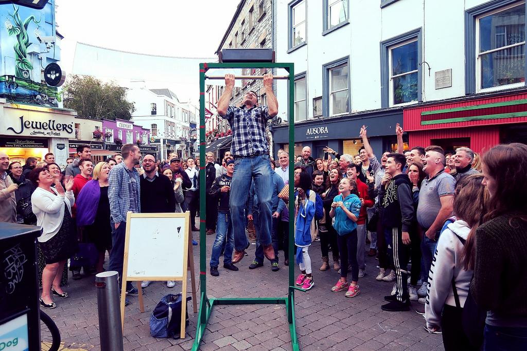 Galway street challenge