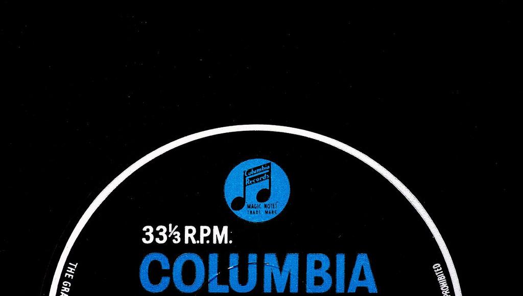 Columbia vinyl record